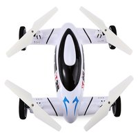 Распродажа SYMA X25 2,4G RC Квадрокоптер с 2.0MP HD камерой профессиональные беспилотники с Land/Sky 2 в 1 НЛО Мини подарок