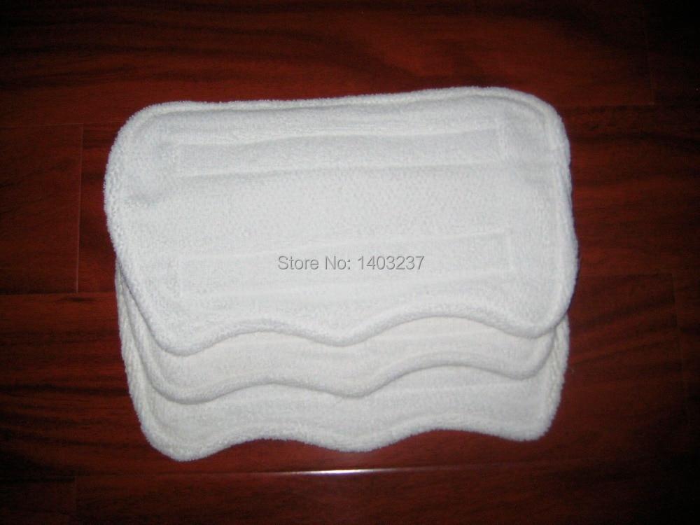 3pcs Euro Pro Shark Steam Mop Replacement Microfiber Pads S3250, 3250, S3202, 3202,S3101, 3101 5 replacement microfiber pads cleaning pads for h2o x5 steam mop