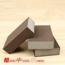 Bloque de arena de esponja para pulir muebles de madera Jade Wenwan Metal para pulir papel de lija