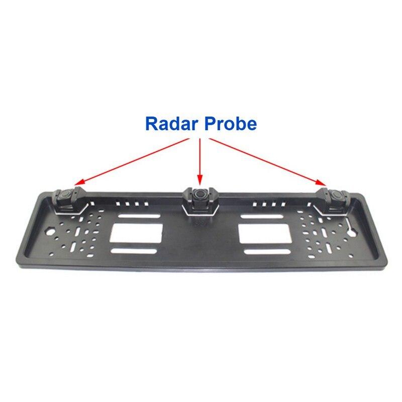 Image 4 - Parking Sensor System LED Display Reversing Radar Night Vision Car Reversing Sensor Multi Layer Waterproof Parking Detector-in Parking Sensors from Automobiles & Motorcycles