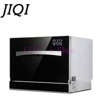 JIQI Desktop Dish Washer Washing Machine For Commercial Kitchen 2500w Automatic Dishwashing Disinfect High Temperature Sterilize