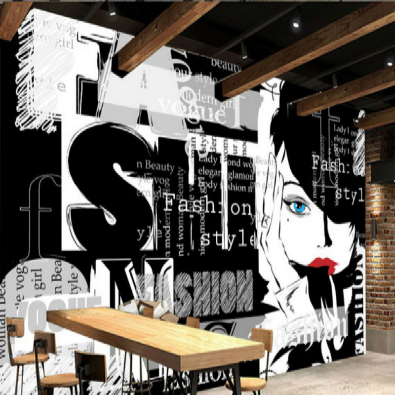 3D Wallpaper Fashion Girl Large Mural Wallpaper Customization     3D Wallpaper Fashion Girl Large Mural Wallpaper Customization Backgrounds  Wellpaper for Wall 3d Living Room TV Backdrop Painting in Wallpapers from  Home
