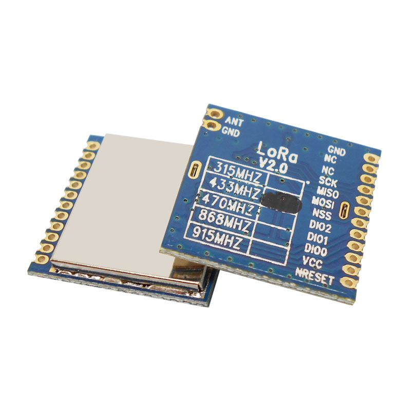 Image 5 - 2pcs/lot FCC certified 868MHz  915MHz 100mW sx1276 chip long range 4Km RF Wireless LoRa Module LoRa1276module classmodule powermodule wlan - AliExpress