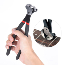 Sale Guitar Bass Fret Wire Nipper Puller Plier String Cutter Luthier Tool Scissors Stainless Steel