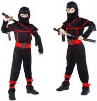 2017 High Quality Children Ninja Cosplay Costume Halloween Costume Kids Fancy Ninja Cosplay Costume Suitable For