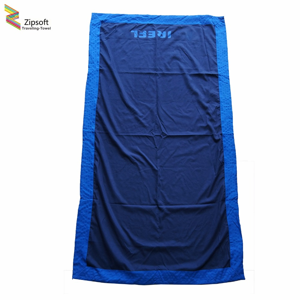 Zipsoft Large Beach Towel For Adults 90*165cm Travel Body