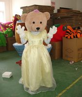 Mascot Costumes Bear Mascot Costumes for Adults Carnival Halloween Carnival Party Event Outfit Suit Costume
