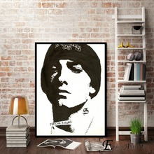Eminem Pop Rapper Singer Portraits Canvas Prints Modern Painting Posters Wall Art Pictures For Living Room Decoration No Frame