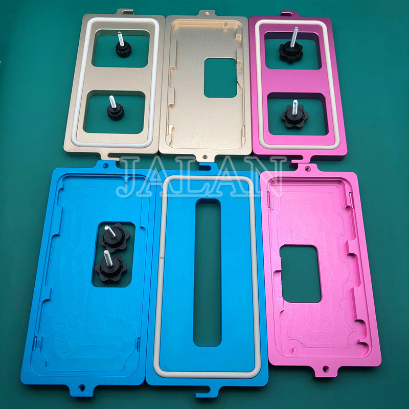 Dedicated Frame Clamping mold for iphone xs max xs x glass Screen frame positioning cold glue holding close together mould|Phone Repair Tool Sets| |  - title=