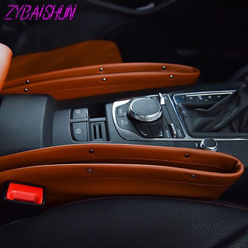Stylowy fotel samochodowy Organizer pudełko do przechowywania w szczelinie obok fotela uniwersalny do Porsche 911 918/Cayenne/Macan/Macan S/Panamera/Cayman/Carrera/Boxster