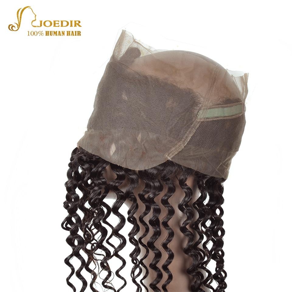 JOEDIR Hair Deep Wave 3st Human Hair Bundles With Closure 360 - Barbershop - Foto 4