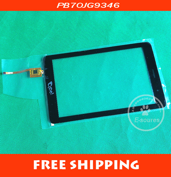 Original White New 7 PB70JG9346 3Q Qoo! Q-pad Tablet touch screen Touch panel Digitizer Glass Sensor Replacement Free Shipping new touch screen digitizer 7 texet tm 7096 x pad navi 7 3 3g tablet touch panel glass sensor replacement free shipping
