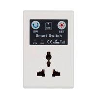 EU 220 볼트 전화 RC 원격 무선 제어 스마트 스위치 GSM 소켓 전원 플러그 홈