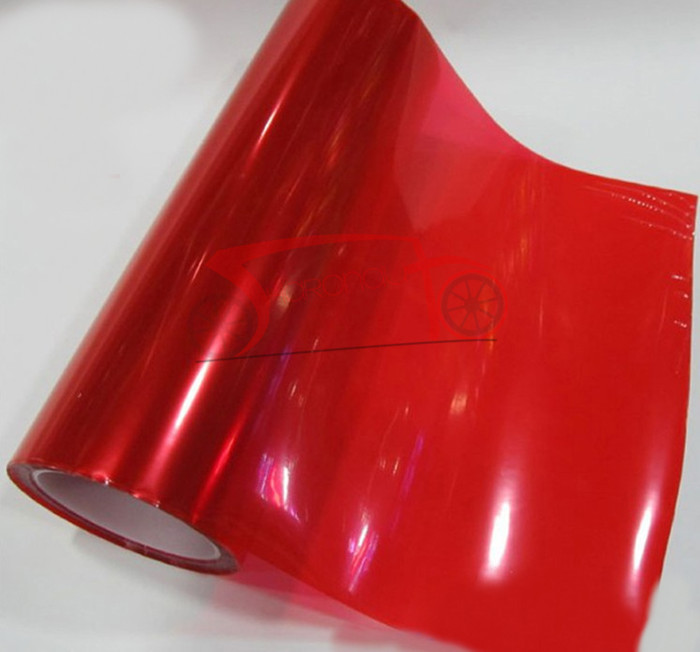 ᑐred Car Headlamp Film Tail Lamp Membrane Protective Film Headlight