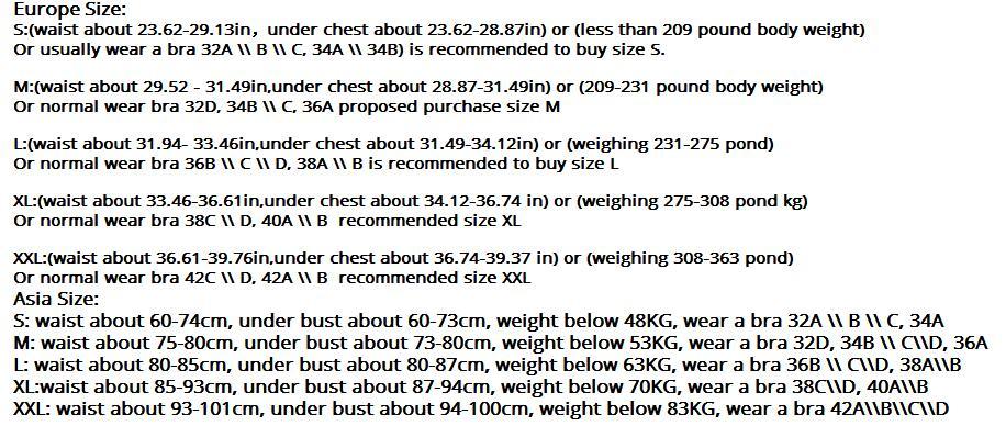 Adjustable Women Back Support Belt (14)