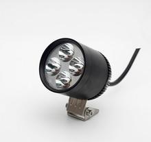 Free shipping 4*U2 Cree 30W 3000lumens waterproof streetfighter motorcycle headlights