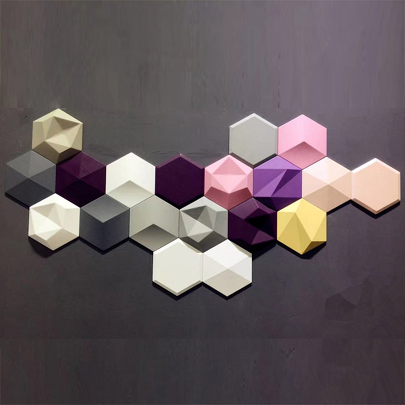 Geometric Wall Tile Die Silicone Concrete Brick Molds Honeycomb - Encaustic cement tile molds for sale