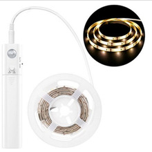 led Bed Bottom Human Body Induction Light Strip 4AAA Battery Box Night