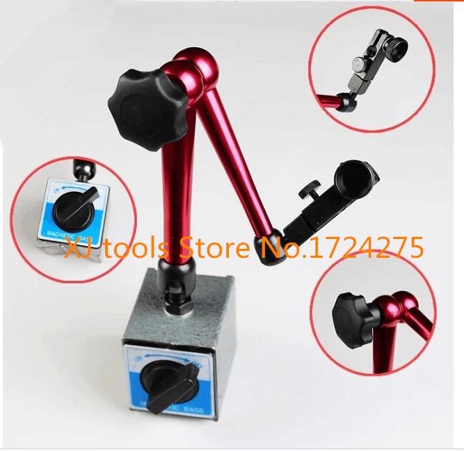 Freies verschiffen messuhr messuhr messer miniatur magnetic power station von 50*60*55mm 200N magnetische basis