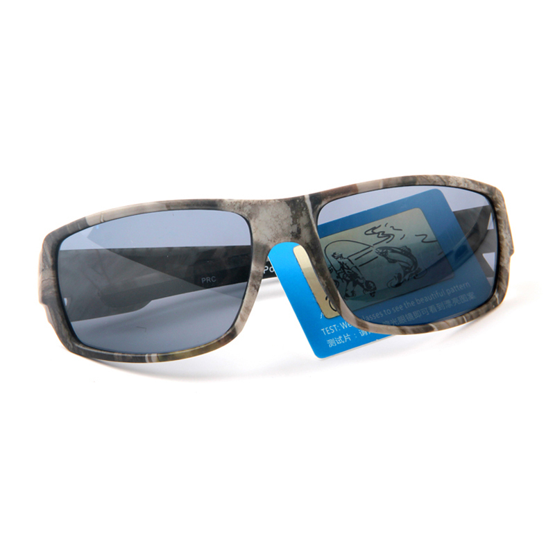 fd92a3a1f4 2017 New Casual Polarized Sunglasses Men Cool Camouflage Frame UV400  Polaroid Goggles Glasses Military Style -in Sunglasses from Apparel  Accessories on ...