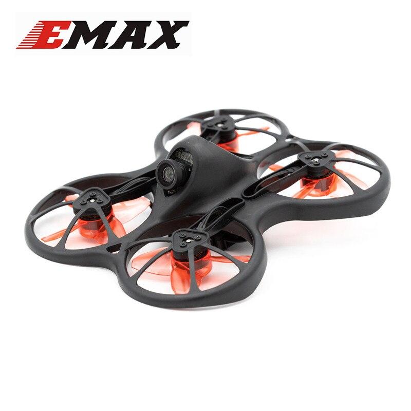Emax TinyhawkS 75mm F4 OSD 1-2 S Micro intérieur FPV Drone de course BNF w/600TVL CMOS caméra quadrirotor RC petit cadeau présent enfant jouets