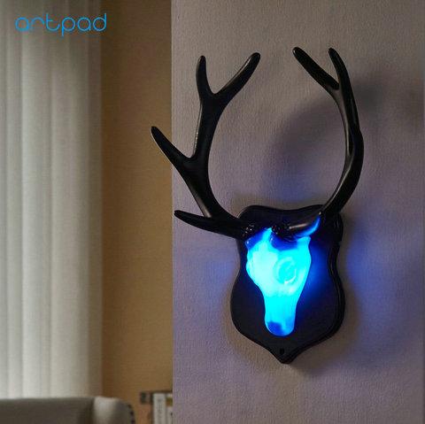 artpad nordic led cama lampada de parede sala estar barra do hotel criancas quarto decoracao