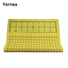 High quality fasion leather chess board Chess cloth without piece Chinese go game entertainment Wei qi gift Yernea
