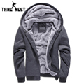 TANGNEST New Arrival 2017 Man's Sweatshirt Casual Soft Thick Men Hoodies Warm Hoodie Popular For Male Plus 5 Colors MWW658