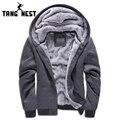 Tangnest nova chegada 2017 camisola do homem casual homens hoodies hoodie morno macio e espesso popular para male plus 5 cores mww658