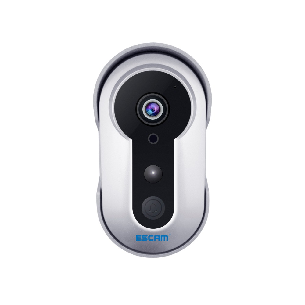 ESCAM Doorbell QF220 Wifi Mini IP Camera HD 960P P2P Wireless Indoor Surveillance Night Vision Security CCTV Camera MAX 64GB ...