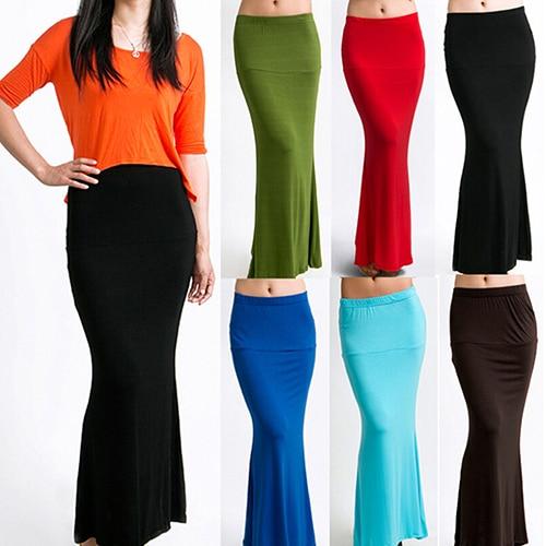 Long Jersey Skirt Promotion-Shop for Promotional Long Jersey Skirt ...