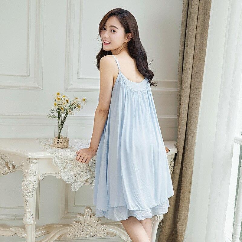 2017 New Sexy Female Korean Lace Nightdress Summer Sweet Loose Size Sexy Lady Nightgown Sleepwear Women Nightwear Sleep Dress