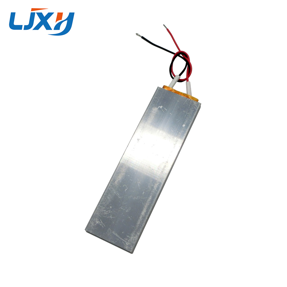 все цены на LJXH 2PCS 100x30x6mm AC12V PTC Heating Element Constant Temperature 60/140/230 degrees htc Air Heater Plate Aluminum Shell онлайн