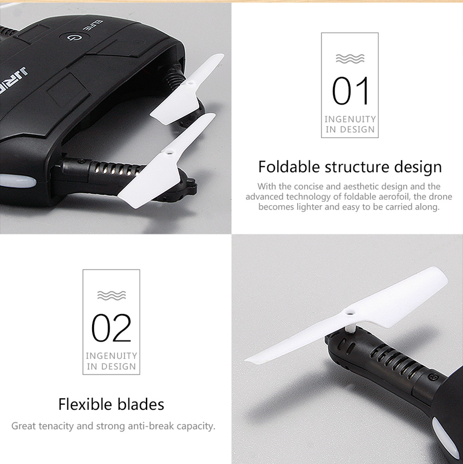18 INKPOT Upgrade Rc Mini Foldable Drone H37 Baby Elfie Micro Drone With 7P Wifi FPV Camera Selfie Pocket APP Control Dron 22