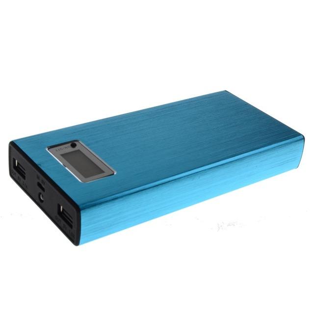 Best selling para 2017 portátil 12000 mah banco de potência levou luz com Bateria Recarregável 18650 Bateria de lítio