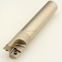 TJU 25XC25X160L wende Bohren und fräsen cutter arbor für CPMT120308 UND CPMT090308 wendeschneidplatten|milling cutter|milling drillcutter milling -