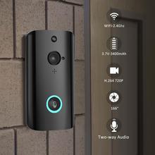 Умный беспроводной дверной звонок, видео камера для домашней безопасности, дверной телефон M9, WiFi, удаленный видео дверной звонок, телефон, домофон, звонок, поддержка TF карты