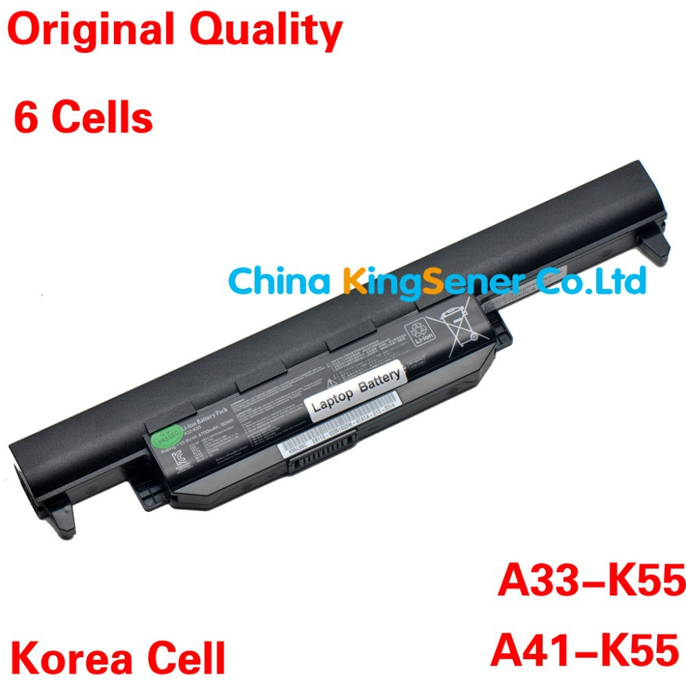 ФОТО New Korea Cell Laptop Battery for ASUS K45 K45D K45V K55 K55A K55D K55V K75 R400 R500 R700 U57 X45 X55 X75 A41-K55 A33-K55 6CELL
