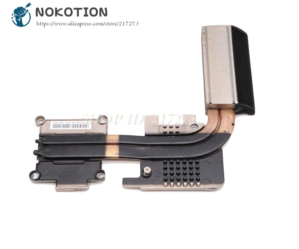 NOKOTION Radiator For Acer aspire V3 772G Laptop heatsink Cooling Fan Compatible with GTX760M and GTX850M Only