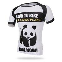 Panda Vestiti Corti Sportivi Da Corsa degli uomini di Ciclismo Magliette MTB Quick Dry Manica Corta Ciclismo Jersey Jersey di Calcio Abbigliamento camicia