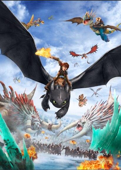 how to train your dragon studio
