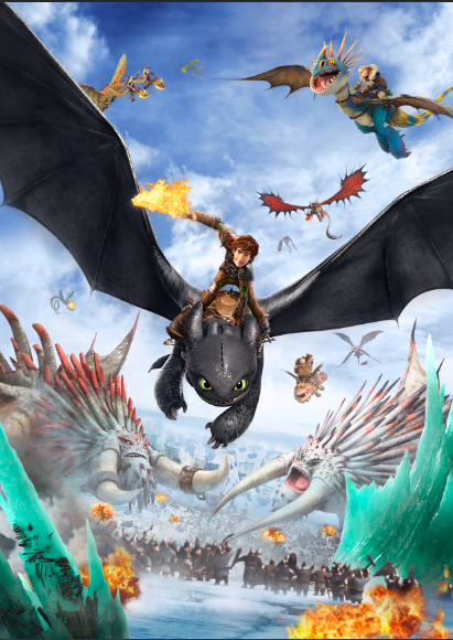how to train your dragon games online 3d
