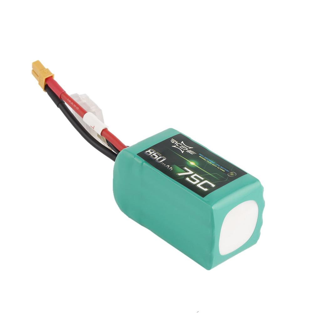ACEHE 14.8V 850mAh 75C Lightweight High Rated Racing Series High Discharge Lipo Battery With XT30 Plug For FPV Racing