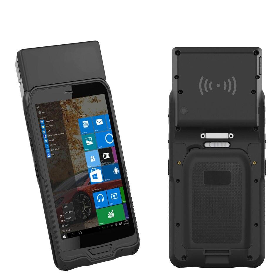 Lecteur d'origine K62H Windows UHF RFID tablette robuste mini PC téléphone PDA étanche téléphone portable GPS 2D Laser lecteur de codes à barres