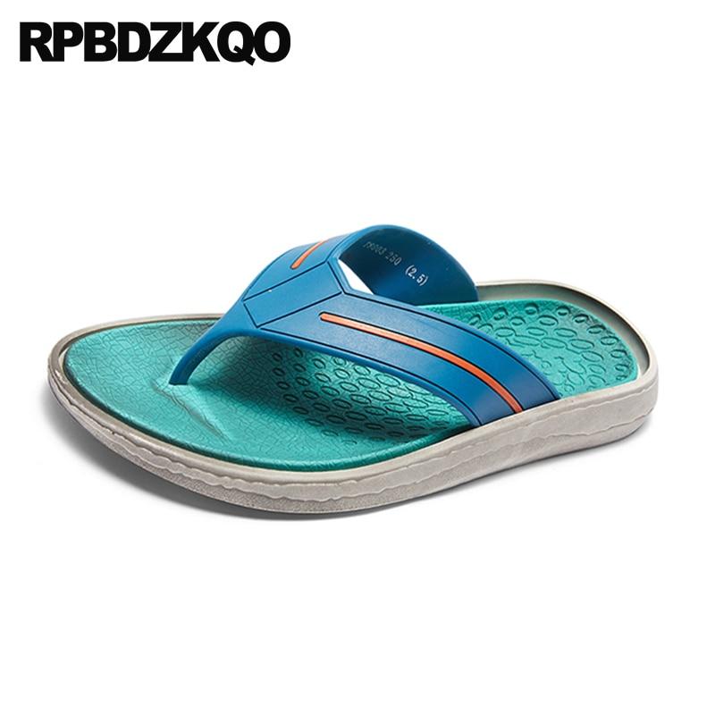Praia Homens Preto Agua Plano Verde Sapatos Suave De Ar Em Moda Dedo verde Ao azul Escorregar 2018 Chinelos Slides Chinelo Sandálias Desenhista Verão branco Livre Dos Casual ZRxARq5