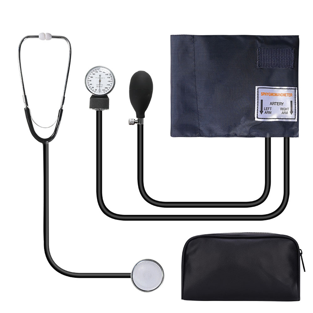 BOXYM Manual Blood Pressure Monitor Measure Stethoscope Use Doctor Systolic Diastolic Sphygmomanometer Health home Device Cuff(China)