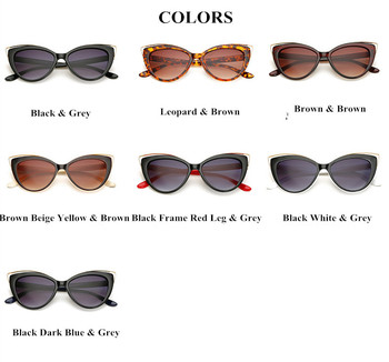 VWKTUUN Wunglasses Women 2020 Vintage Cat Eye Shades Hollow Out Frame Women's Glasses Oversized Sunglasses Woman Brand Designer 10