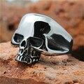 1pc Lastest Design !!  Hot Mens Boy Skull Head Ring 316L Stainless Steel Punk Style Ring