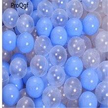 ProQgf шт. 50 шт Прозрачный Красочный ins океан мяч сертификат ce