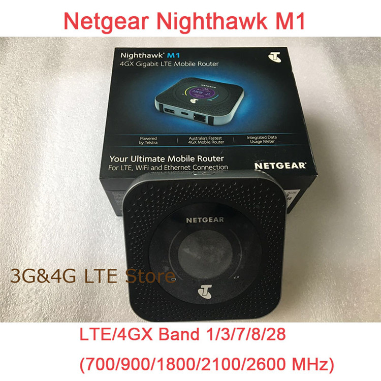 2pcs/lot Unlocked Netgear Nighthawk M1 MR1100 4GX Gigabit LTE Mobile Router cat16 MaX
